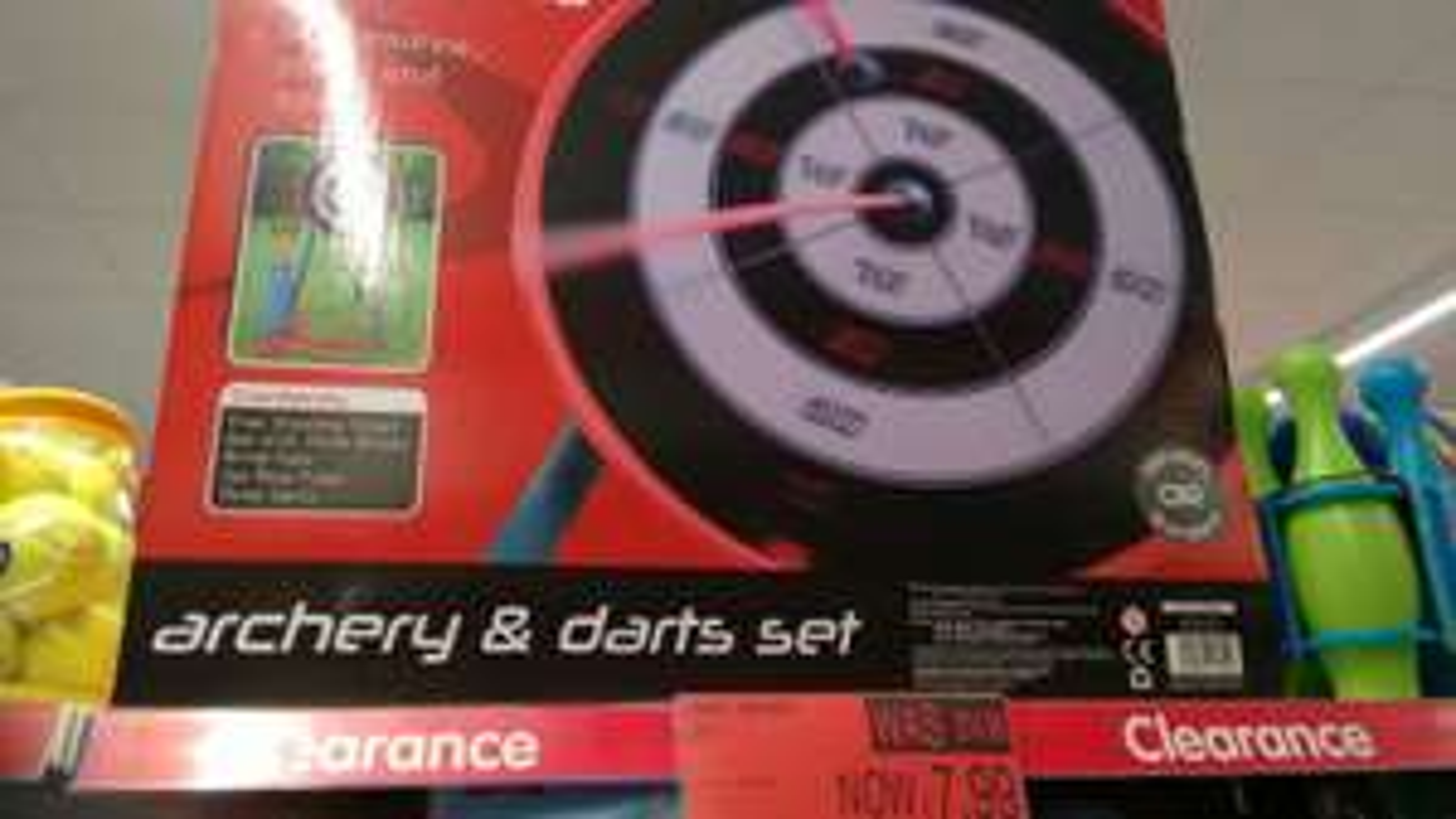 Archery set £7.99 @ B&M