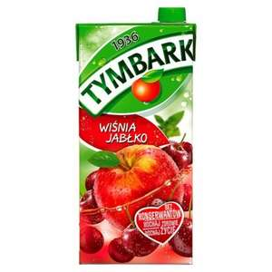 Tymbark Cherry and Apple Nectar Drink (2L) / Tymbark Apple and Mint Nectar Drink (2L) / Tymbark Multifruit Drink (2L) was £1.76 now £1.00 @ Tesco