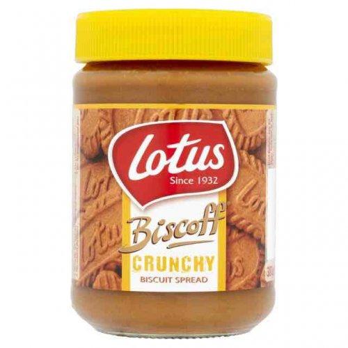 Lotus Biscoff crunchy spread 79p @ B&M