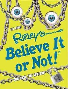 Ripley's believe it or not 2017 - hardback RRP £20.00 - 99p @ HomeBargains