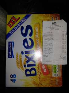 LIDL BIXIES deal. 48 biscuits / 960g for £1.89!