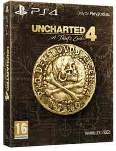 Uncharted 4: A Thief's End - Special Edition (PS4) £16.19 preowned @ GAME with code