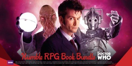 Doctor Who Humble RPG Book Bundle 77p @ HumbleBundle