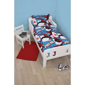 Disney 4 in 1 spiderman junior bed bundle at Smyths - £7