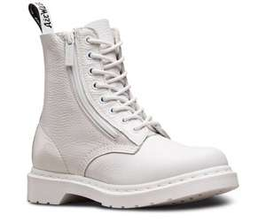 Dr Martens Pascal 1460 White Mono Textured Boots (Size 7 only)  - Amazon £66