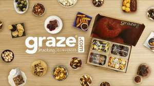 £5 off at Graze shop, no minimum spend