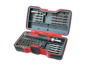 Powerfix Screwdriver & Bit Set £7.99 @ Lidl from the 27th