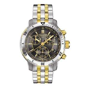 Tissot mens prs200 chrono quartz watch - £199 @ Sold by WATCH GALLERY LONDON and Fulfilled by Amazon