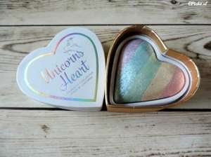 I heart makeup - unicorn heart rainbow highlighter + others 3for2 @ Superdrug - £9.98
