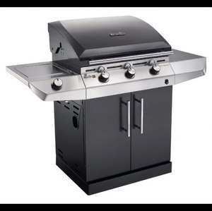 CHARBROIL T-36G BLACK PERFORMANCE 3 BURNER GAS BARBECUE £204 B&Q diy.com