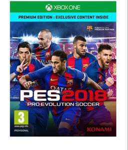 Pro Evolution Soccer 2018 Premium Edition - PS4/Xbox One at £34.85 Simplygames.com