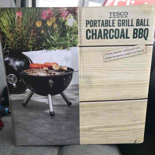 Tesco portable BBQ instore (Hanley) scanning for £3.75