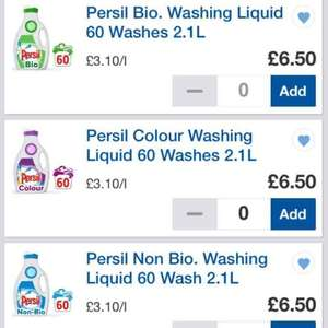 persil small & mighty 60 wash £6.50 tesco