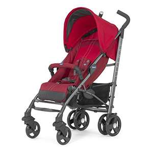 Chicco Liteway Top Stroller Red with Bumper Bar £79.99 @ Amazon.co.uk RRP £130