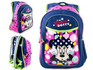 Minnie mouse backpack £2.99 instore @ Home bargains