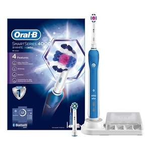 Oral-B Smart Series 4000 Electric Rechargeable Toothbrush Powered by Braun - 3D White £37.99 @ Amazon