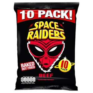 20 packs of Beef Space Raiders for £1.50 @ Farmfoods