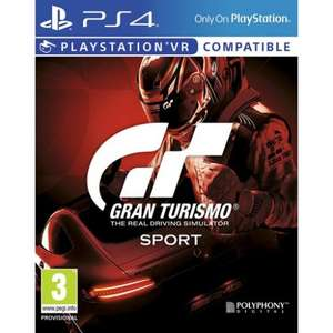 Gran Turismo Sport - £35.86 @ the Game Collection
