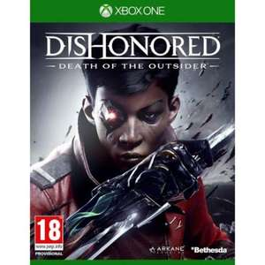 [Xbox One/PS4] Dishonored: Death of the Outsider - £15.26 [Using Code] / PC - £12.56 (The Game Collection)