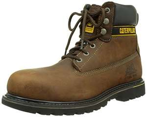 Caterpillar Holton, Men's Work and Safety Boots size 11 (brown only at that price )