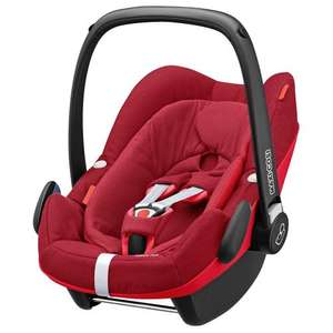 Maxi Cosi Pebble Plus (Red Colour) - £159.20 - Mamas & Papas