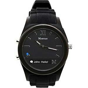 Martian Notifier Smart Watch - Black £29.99 Sold by Same Day Ship Services and Fulfilled by Amazon.