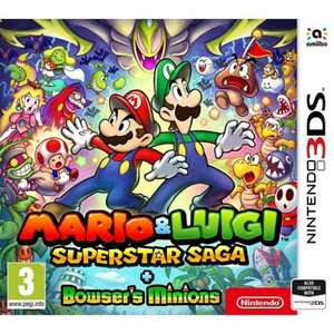 Mario & Luigi Super Star Saga & Bowsers Minions Nintendo 3DS £26.95 (Code FIREFLOWER) @ The Game Collection (TGC)