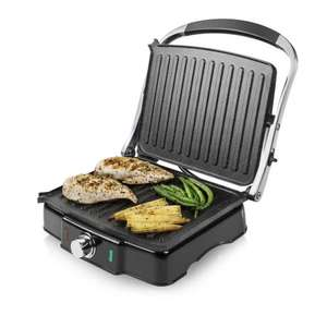 Tower Health T27011 Panini Grill, panini style or 180 Degrees flatbed , 2000 Watt 3yrs warranty Deal of the Day £28.99 at Tower (Amazon £34)
