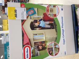 Little Tikes Cape Cottage £60 in store Tesco