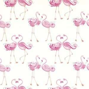 Pretty Flamingo Wallpaper or Unicorns Wallaper (was £20) Now £7.20 using code at Laura Ashley