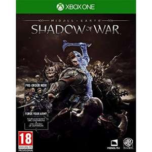 Middle earth shadow of war Xbox one and PS4 £35.95 + 2.02% TCB @ The Game Collection