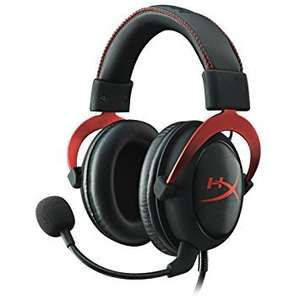 HYPERX Cloud II Pro 7.1 Gaming Headset (Red) at Amazon for £51.78