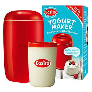 Easiyo yoghurt maker half price £9.99 Holland & Barrett plus £2.99 delivery