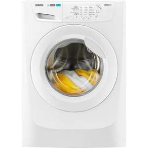 Zanussi washing machine £279 @ Co-op. 8kg load with 1400 spin.