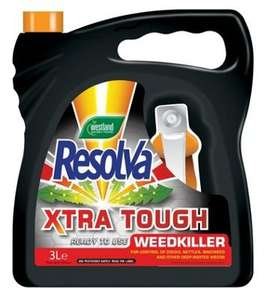 Resolva Extra Tough Weed Killer 3L £1 reduced from £9.99 @ B&M