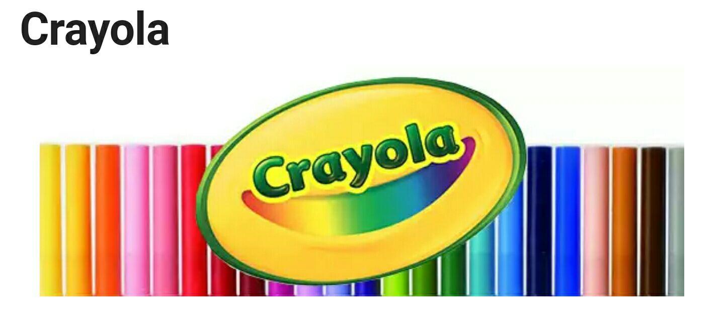 Half price crayola at hobbycraft