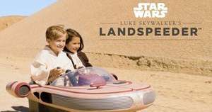 Star Wars Luke Skywalker 12V Landspeeder Toysrus £499.00