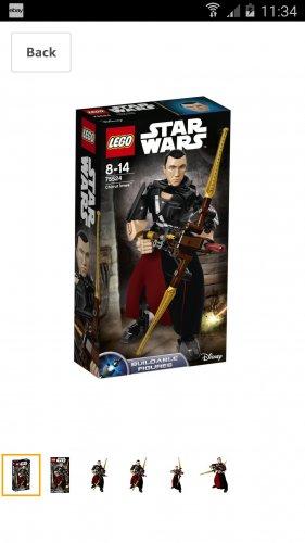 LEGO 75524 Chirrut Imwe Set £5 (add on) @ amazon