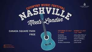 free country music festival - london - canada square park
