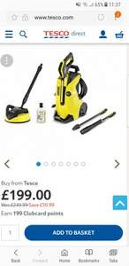Karcher K4 Full Control Home Pressure Washer - £199 @ Tesco