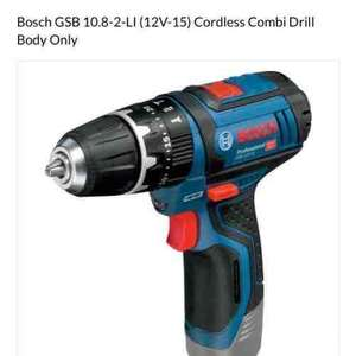bosch professional 10.8v combi drill - £40 @ PowerTool world