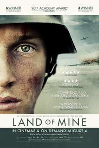 Free screening of Land of Mine - Saturday 29 @ 11am