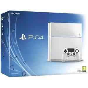 Sony PlayStation 4 in White 500gb. Now £203.99 @ zavvi