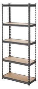 Handy Storage 5 Tier Shelving Unit £18 @ Homebase (Free C+C)