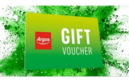 Now live - get a £5 gift voucher WYS £50, or £10 gift voucher WYS £100 @ Argos