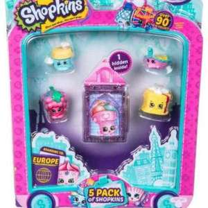 shopkins season 8 pack of 5 scanning at £2.49 @tesco