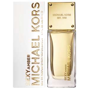 Michael Kors Sexy Amber Eau De Parfum 185ml Spray + FREE clutch bag £65 Delivered with code @ The Fragrance Shop