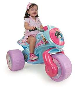 Used Disney Frozen 6v Ride-on Tricycle used @amazon warehouse  (only one get quick)