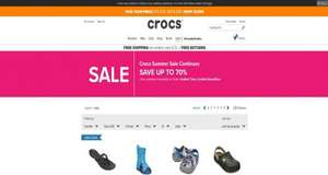Crocs Sale up to 70%