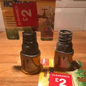 Hozelock and Hozelock Pro reduced to clear at B&Q - items  from 50p